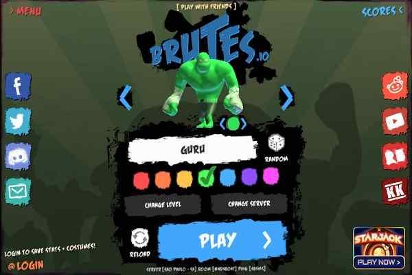 Play Brutes.io