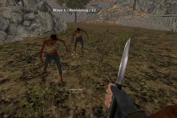 Play Warrior vs Zombies