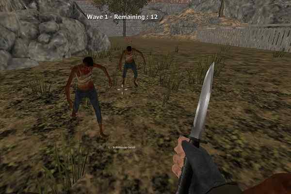 Play Warrior vs Zombies