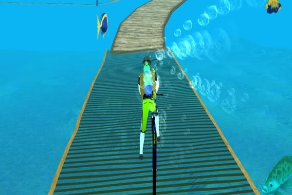 Play Underwater Cycling