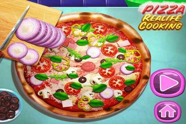 Play Pizza Realife Cooking