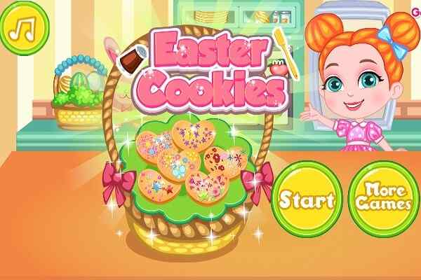 Play Easter Cookies