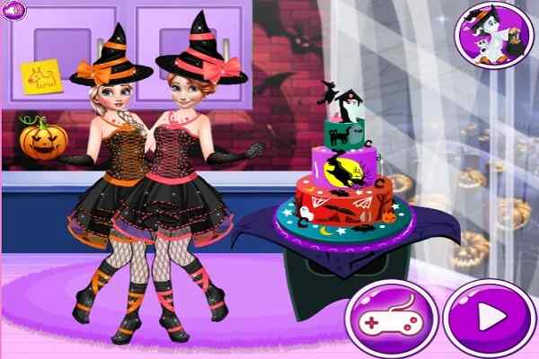 Play Halloween Party Cake