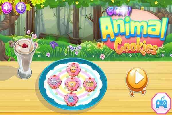 Play Baby Animal Cookies