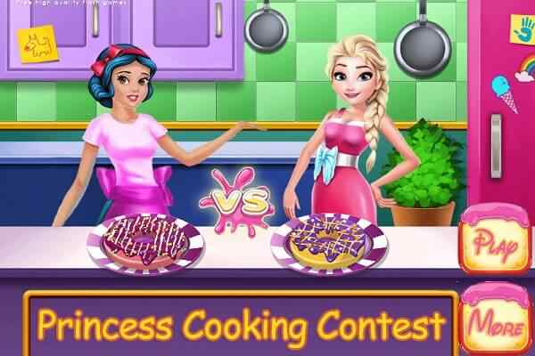 Play Princesses Cooking Contest