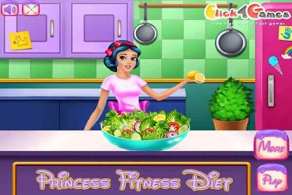 Play Princess Fitness Diet