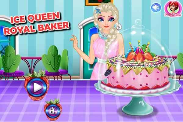 Play Ice Queen Royal Baker