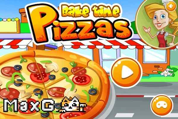 Play Bake Time Pizzas