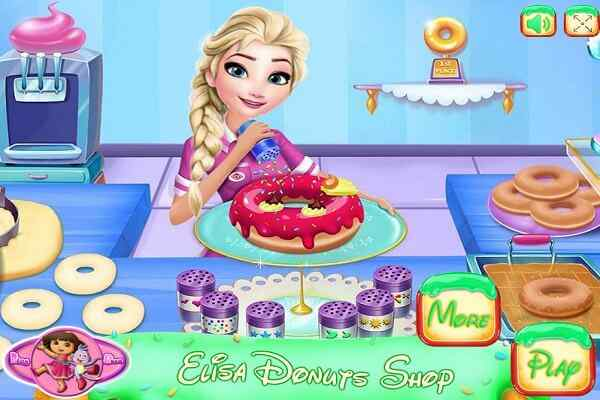 Play Eliza Donuts Shop