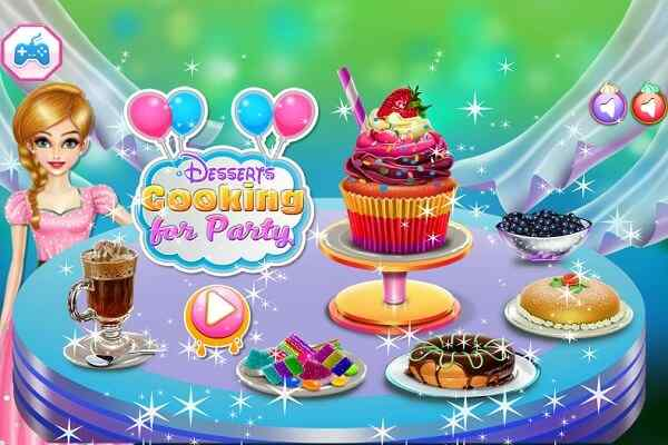 Play Desserts Cooking For Party