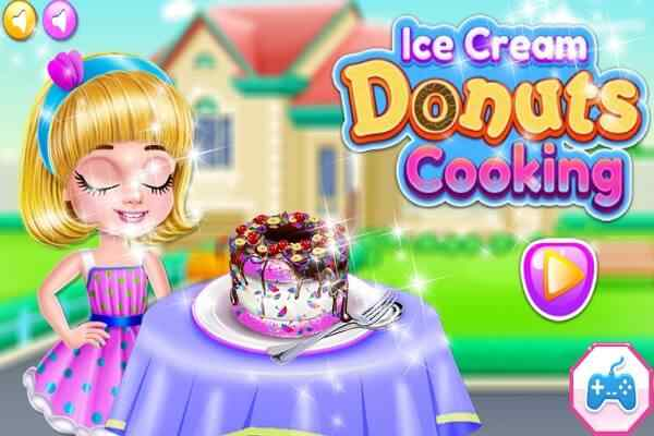 Play Ice Cream Donuts Cooking