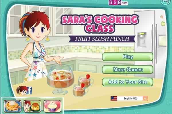 Play Fruit Slush Punch: Sara's Cooking Class