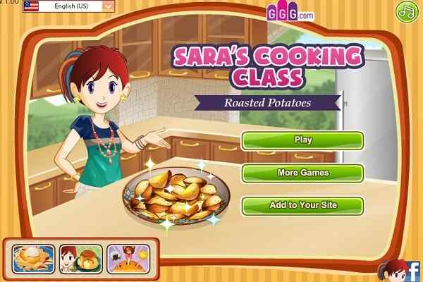 Play Roasted Potatoes: Sara's Cooking Class