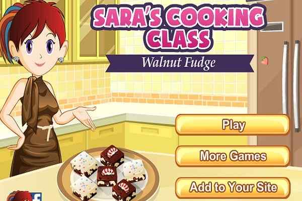 Play Walnut Fudge Saras Cooking Class