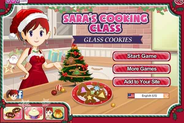 Play Glass Cookies Saras Cooking Class