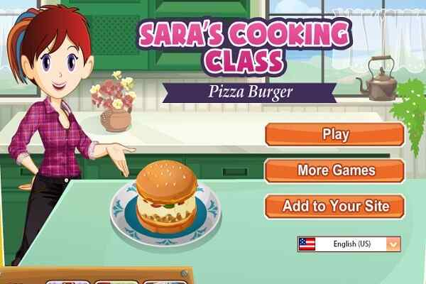 Play Pizza Burgers Saras Cooking Class