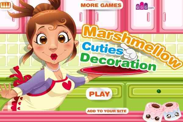 Play Marshmellow Cuties Decoration