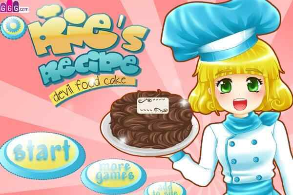 Play Ries Recipe Devils Food Cake