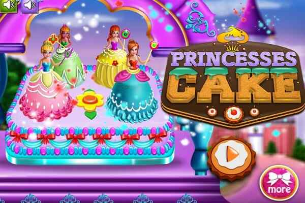 Play Princesses Cake Cooking