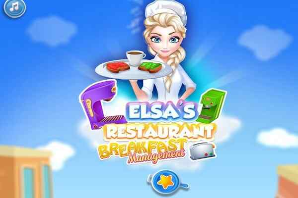 Play Elsa Restaurant Breakfast Management