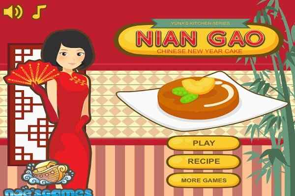 Play Yuna Kitchen Chinese New Year Cake