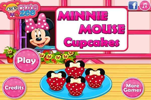 Play Minnie Mouse Cupcakes