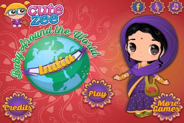 Play Baby Around The World India