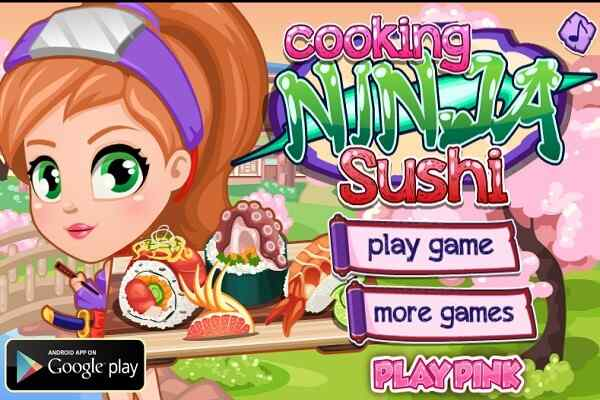 Play Ninja Cooking Sushi