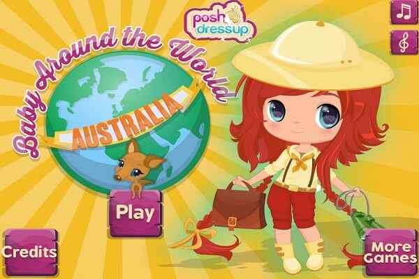 Play Baby Around The World Australia