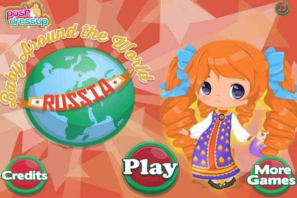 Play Baby Around The World Russia
