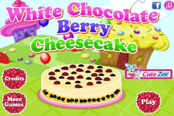Play White Chocolate Berry Cheesecake