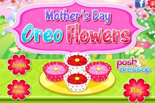 Play Mother's Day Oreo Flowers