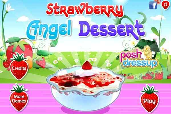 Play Strawberry Angel Dessert
