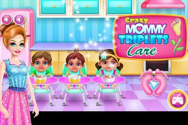 Play Crazy Mommy Triplets Care
