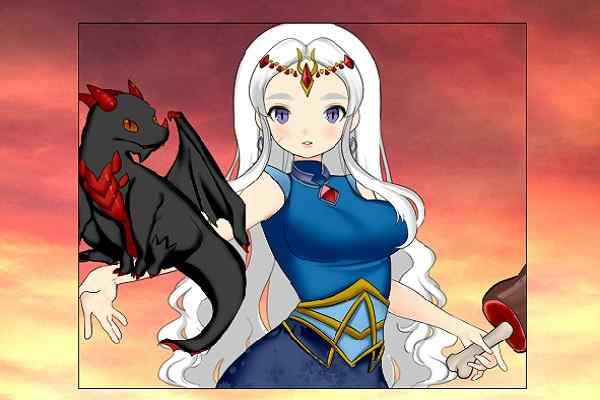 Play Jrpg Heroine Creator Dragon master