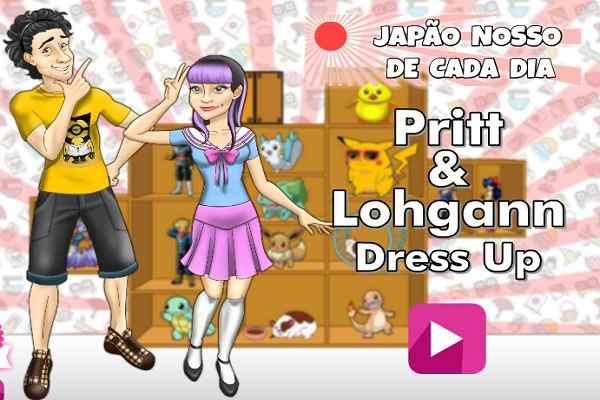 Play Pritt and Lohgann Dressup