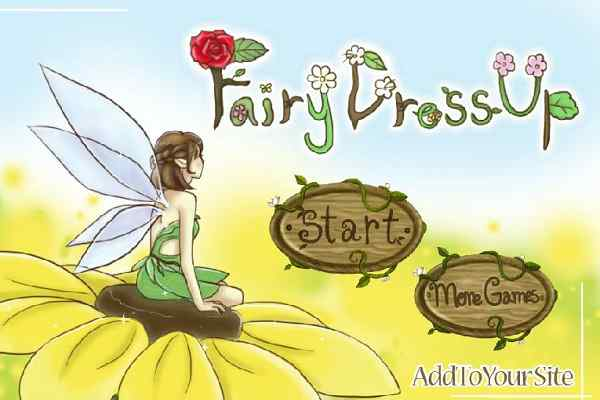 Play Fairy Girl Dress Up