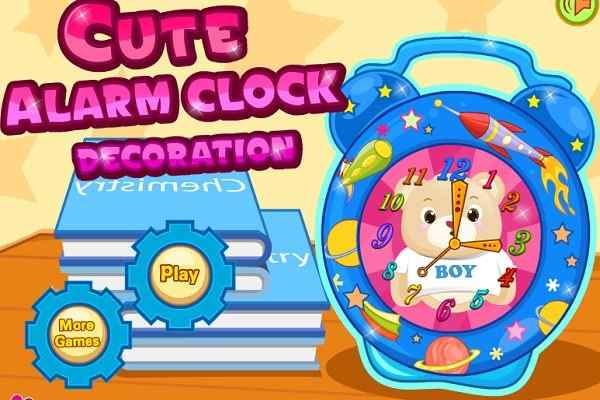 Play Cute Alarm Clock Decoration