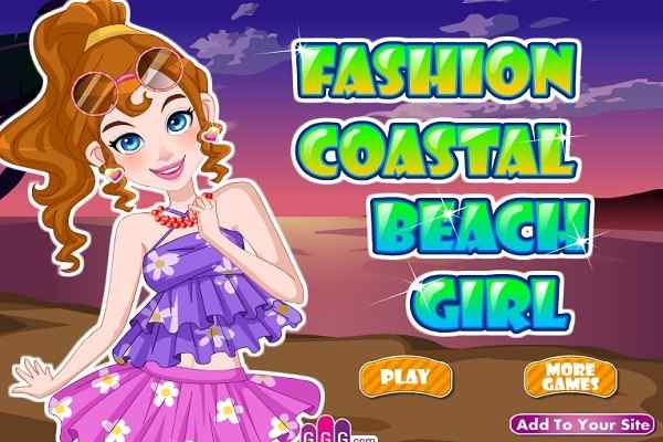 Play Fashion Coastal Beach Girl
