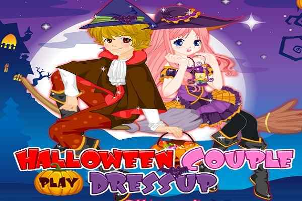 Play Halloween Couple Dress Up