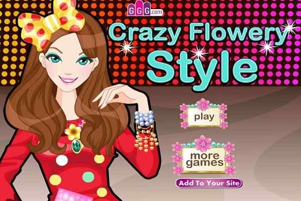Play Crazy Flowery Style