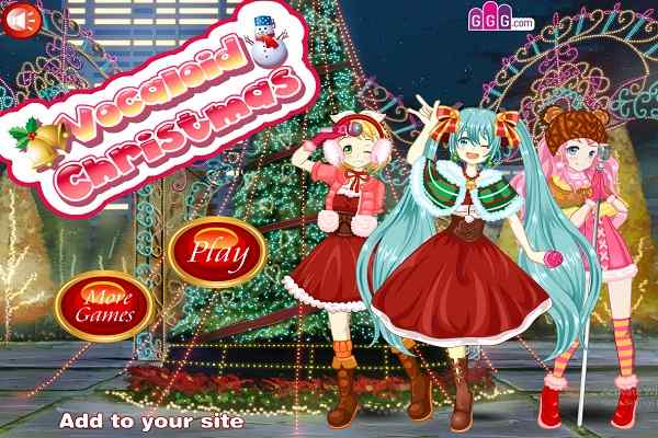Play Vocaloid Christmas