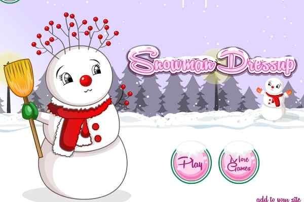 Play Snowman Dress Up