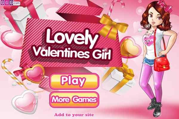Play Lovely Valentine Girl