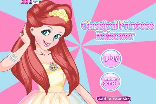 Play Classical Princess Makeover