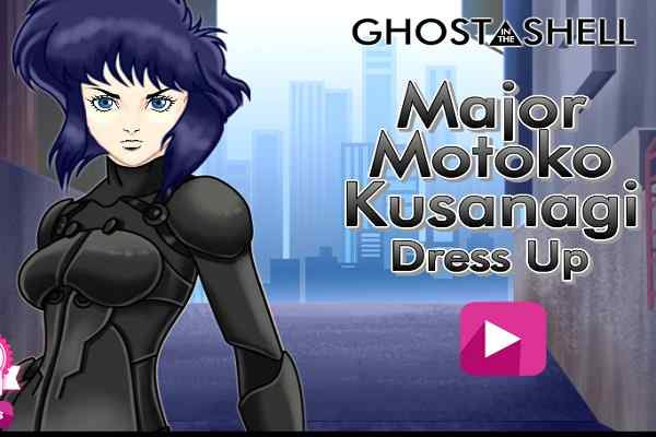 Play Ghost in the Shell Major Motoko