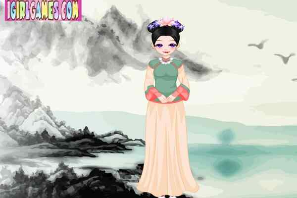 Play Pretty Chinese Qing Princess
