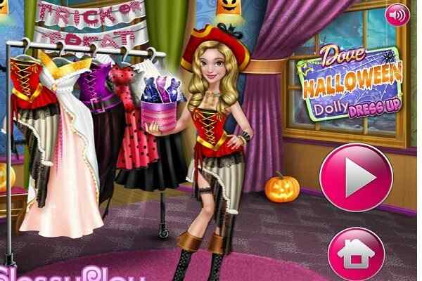 Play Dove Halloween Dolly Dress Up