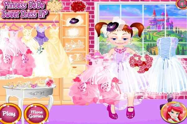Play Princess Dede Sweet Dress Up