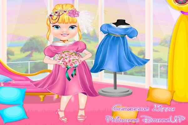 Play Gorgeous Little Princess Dress Up